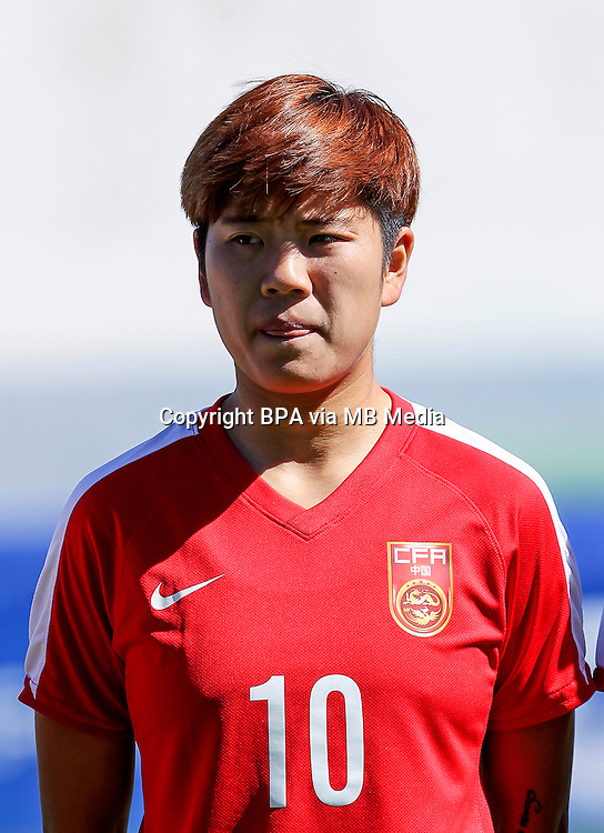 Fifa Womans World Cup Canada 2015 - Preview //<br /> Algarve Cup 2015 Tournament ( Vila Real San Antonio Sport Complex - Portugal ) - <br /> Germany vs China 2-0  -  Li Ying of China