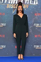 Sonequa Martin-Green attending a Star Trek: Discovery fan screening at Millbank Tower in London.