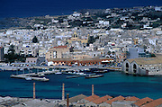 The Tuna fishing port of Favignana on the island of the same name, home to a diminished Tuna fishing industry, crippled by overfishing and EU regulations.