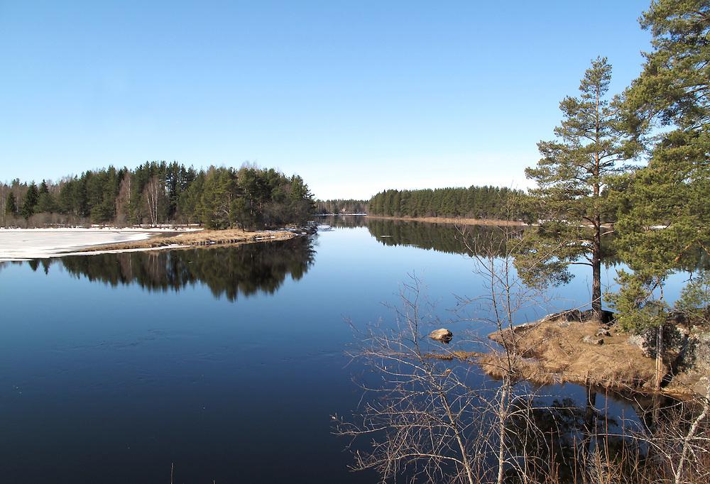Dalälven vid Dala-Järna.