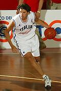 BORMIO, GIUGNO 2004<br /> AMICHEVOLI PRE OLIMPIADI ATENE 2004<br /> NELLA FOTO: NIKOLA RADULOVIC<br /> FOTO CIAMILLO