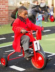 Children in the playground, primary school