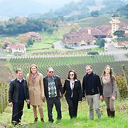 Famille Carraro. de G à D. Juliano Carraro, Monica Rossetti, Lidio Carraro, Isabel Carraro, Giovanni Carraro, Patricia Carraro