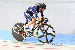 March 4, 2018 - Apeldoorn, Netherlands - Coralie Demay (FRA) - Women's point race .during UCI Track Cycling World Championships Apeldoorn 2018, in Apeldoorn, Netherlands, on March 4, 2018. (Credit Image: © Foto Olimpik/NurPhoto via ZUMA Press)