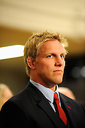 English Captain Lewis Moody during England official welcoming ceremony, England, rugby union, Dunedin Town Hall, New Zealand. IRB Rugby World Cup 2011. Tuesday 6 September 2011. New Zealand. Photo: Richard Hood/photosport.co.nz
