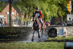 De Cleene Wouter, BEL, Alaric de Lauzelle<br /> Cross Merksplas 2016<br /> © Hippo Foto - Dirk Caremans<br /> 09/10/16