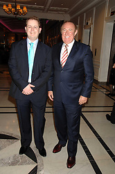 Left to right, MATTHEW d'ANCONA and ANDREW NEIL at a party to celebrate the 180th Anniversary of The Spectator magazine, held at the Hyatt Regency London - The Churchill, 30 Portman Square, London on 7th May 2008.<br /><br />NON EXCLUSIVE - WORLD RIGHTS