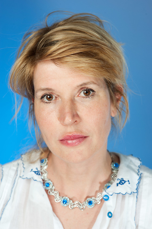 Comedian Julia Davis poses for portraits at a location in east London on June 21st 2012...Julia Davis new series Hunderby is due to be screened in August on Sky Alantic...Photographs by Ki Price