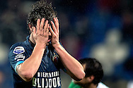 Onderwerp/Subject: Feyenoord - Eredivisie<br /> Reklame:  <br /> Club/Team/Country: <br /> Seizoen/Season: 2012/2013<br /> FOTO/PHOTO: Daryl JANMAAT of Feyenoord dejected. (Photo by PICS UNITED)<br /> <br /> Trefwoorden/Keywords: <br /> #03 $94 &plusmn;1354627667242<br /> Photo- &amp; Copyrights &copy; PICS UNITED <br /> P.O. Box 7164 - 5605 BE  EINDHOVEN (THE NETHERLANDS) <br /> Phone +31 (0)40 296 28 00 <br /> Fax +31 (0) 40 248 47 43 <br /> http://www.pics-united.com <br /> e-mail : sales@pics-united.com (If you would like to raise any issues regarding any aspects of products / service of PICS UNITED) or <br /> e-mail : sales@pics-united.com   <br /> <br /> ATTENTIE: <br /> Publicatie ook bij aanbieding door derden is slechts toegestaan na verkregen toestemming van Pics United. <br /> VOLLEDIGE NAAMSVERMELDING IS VERPLICHT! (&copy; PICS UNITED/Naam Fotograaf, zie veld 4 van de bestandsinfo 'credits') <br /> ATTENTION:  <br /> &copy; Pics United. Reproduction/publication of this photo by any parties is only permitted after authorisation is sought and obtained from  PICS UNITED- THE NETHERLANDS