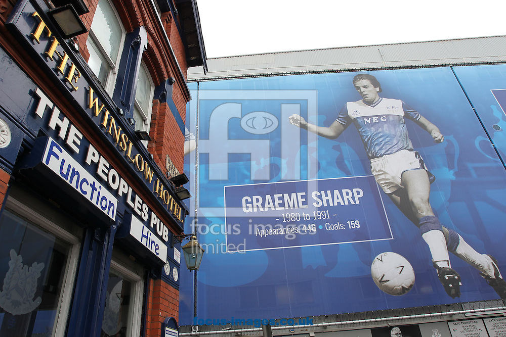General view of Goodison Park prior to the Premier League match between Everton and West Ham United, Liverpool.<br /> Picture by Michael Sedgwick/Focus Images Ltd +44 7900 363072<br /> 30/10/2016