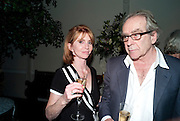 JANE ASHER; GERALD SCARFE, Party for Perfect Lives by Polly Sampson. The 20th Century Theatre. Westbourne Gro. London W11. 2 November 2010. -DO NOT ARCHIVE-© Copyright Photograph by Dafydd Jones. 248 Clapham Rd. London SW9 0PZ. Tel 0207 820 0771. www.dafjones.com.