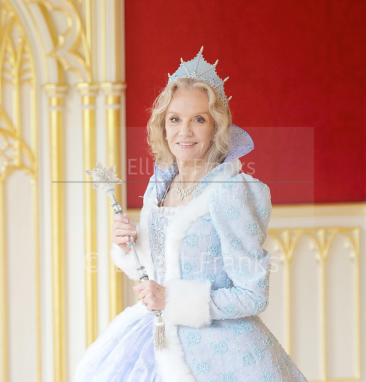 Hayley Mills as Fairy Godmother at the Cinderella publicity shoot for the Richmond Theatre production of Cinderella at Strawberry Hill House, Strawberry Hill, Nr Richmond, Great Britain <br /> 14th October 2015 <br /> <br /> Hayley Mills as Fairy Godmother <br /> <br /> <br /> <br /> <br /> Photograph by Elliott Franks <br /> Image licensed to Elliott Franks Photography Services