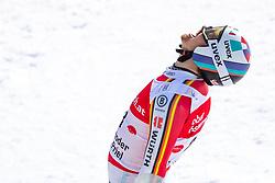02.03.2020, Hannes Trinkl Weltcupstrecke, Hinterstoder, AUT, FIS Weltcup Ski Alpin, Riesenslalom, Herren, 2. Lauf, im Bild Stefan Luitz (GER) // Stefan Luitz of Germany reacts after his 2nd run of men's Giant Slalom of FIS ski alpine world cup at the Hannes Trinkl Weltcupstrecke in Hinterstoder, Austria on 2020/03/02. EXPA Pictures © 2020, PhotoCredit: EXPA/ Johann Groder