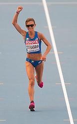 10-08-2013 ATLETIEK:  IAAF WORLD CHAMPIONSHIPS: MOSKOU<br /> VALERIA STRANEO<br /> ***NETHERLANDS ONLY***<br /> ©2012-FotoHoogendoorn.nl