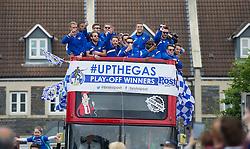 - Photo mandatory by-line: Alex James/JMP - Mobile: 07966 386802 - 25/05/2015 - SPORT - Football - Bristol - Memorial Stadium -    Bristol Rovers Bus Tour
