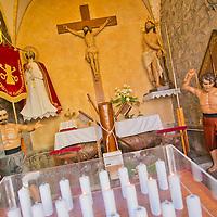 Alberto Carrera, Los Ca&ntilde;os de Rivero, Christ Chapel, St. Peter Chapel, Capilla del Cristo, Capilla de San Pedro, Avil&eacute;s, Asturias, Spain, Europe<br /> <br /> EDITORIAL USE ONLY