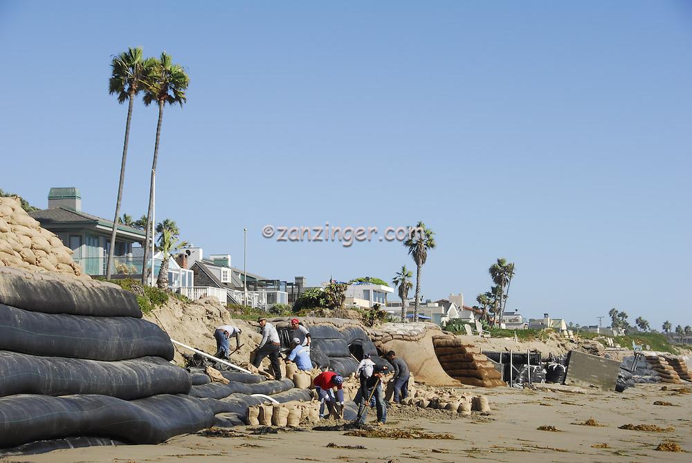 Broad Beach Rd, Malibu, CA, Beach Erosion,  Luxury, Oceanfront, Beach, Houses, low tide, Los Angeles, CA