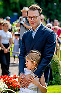 SOLLIDEN OLAND - Prince Daniel, Princess Estelle, Crown Princess Victoria's 41st birthday, Oland, Sweden - 14 Jul 2018 ROBIN UTRECHT
