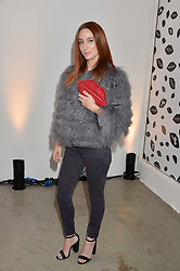 SIOBHAN DONAGHY at the launch of The Lulu Perspective to celebrate 25 years of Lulu Guinness held at 74a Newman Street, London on 13th September 2014.