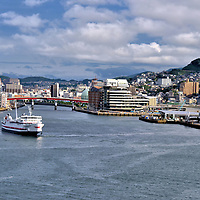 History of Nagasaki Port in Nagasaki, Japan <br />