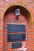 Third Lantern Memorial at the Old North Church on the Freedom Trail, Boston, Massachusetts