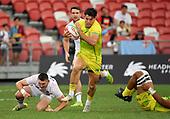 Apr 14, 2019-Rugby-HSBC Singapore Sevens-Quarterinal-England vs Australia