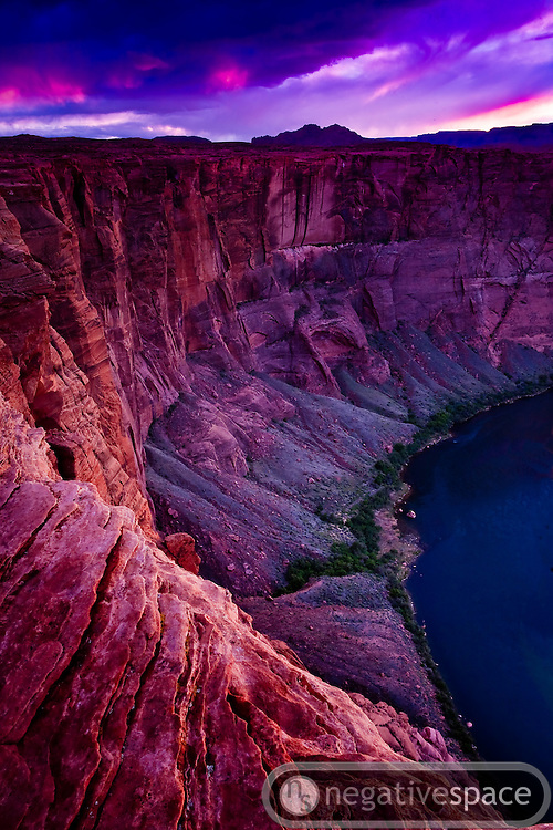Sunset at Horseshoe Bend, Page, Arizona