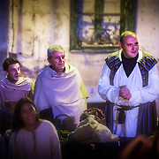 El Cronicón de Oña is a theatrical representation which commemorates the origins of the kingdom of Castile. It takes place, providing a palpable sense of atmosphere of the Medieval times, every year in August, in the village of Oña (Burgos, Spain).