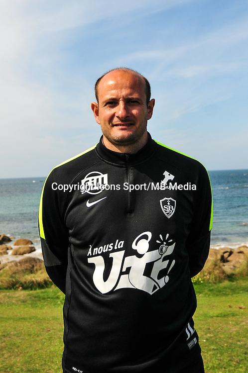 Julien Lachuer - 09.09.2015- Photo Officielle de Brest - Ligue 2<br /> Photo : Philippe Le Brech / Icon Sport