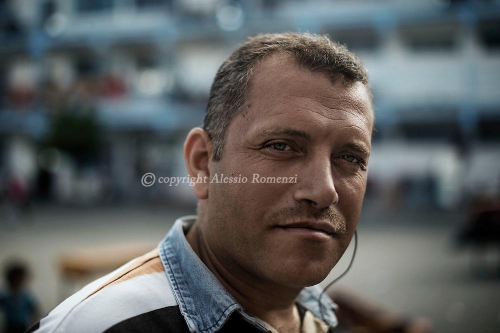 Gaza Strip: Ashraf Al Masri . ALESSIO ROMENZI