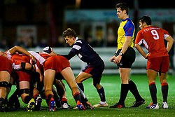Angus Judkins of Bristol Bears U18 - Rogan/JMP - 19/12/2019 - RUGBY UNION - Newlands Park - Cheltenham, England - Gloucester Rugby U18 v Bristol Bears U18 - Premiership Rugby U18 Academy League.