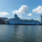 NLD/Amsterdam/20180913 - Cruiseschip Ariana in de Amsterdamse haven