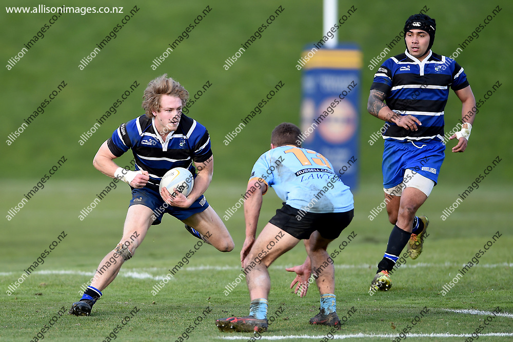 University Premier's vs Kaikorai Premier's, Dunedin Premier Rugby Semi Final, University Oval, Dunedin, New Zealand, 28 July 2018. Credit: Joe Allison / allisonimages.co.nz