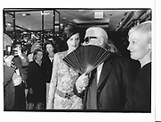 Stella Tennant and Karl Largerfeld. Gala opening, Chanel boutique. New York. 1993 approx. © Copyright Photograph by Dafydd Jones 66 Stockwell Park Rd. London SW9 0DA Tel 020 7733 0108 www.dafjones.com