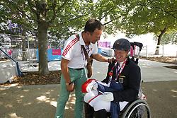 Näpel, Britta, <br /> London Paralympics 2012<br /> Grade II Freestyle<br /> © www.sportfotos-lafrentz.de/ Stefan Lafrentz