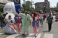 """5493 – Stephanie Franklin, State Representative, Barbara Flynn Currie, Cook County Board President, Toni Preckwinkle and 5th Ward Alderman, Leslie Hairston.<br /> <br /> Hyde Park celebrated the holiday weekend with its annual 4th of July Parade which circled the neighborhood and finished in Nichols Park.<br /> <br /> Please 'Like' """"Spencer Bibbs Photography"""" on Facebook.<br /> <br /> All rights to this photo are owned by Spencer Bibbs of Spencer Bibbs Photography and may only be used in any way shape or form, whole or in part with written permission by the owner of the photo, Spencer Bibbs.<br /> <br /> For all of your photography needs, please contact Spencer Bibbs at 773-895-4744. I can also be reached in the following ways:<br /> <br /> Website – www.spbdigitalconcepts.photoshelter.com<br /> <br /> Text - Text """"Spencer Bibbs"""" to 72727<br /> <br /> Email – spencerbibbsphotography@yahoo.com"""