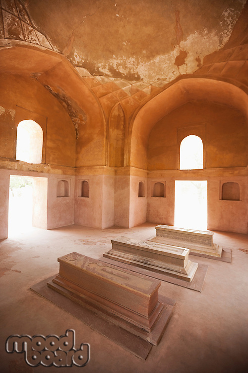 Tomb chamber, Humayun tomb, New Delhi, India