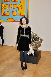 MOLLIE DENT-BROCKLEHURST at the opening private view of 'A Strong Sweet Smell of Incense - A portrait of Robert Fraser, held at the Pace Gallery, Burlington Gardens, London on 5th February 2015.