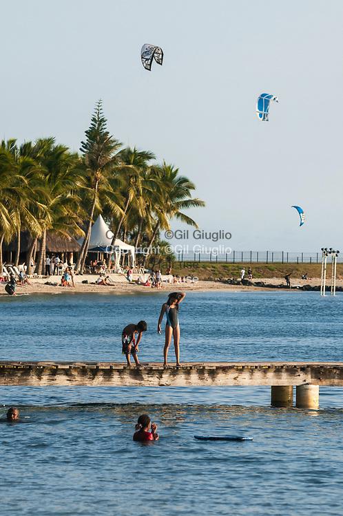 Nouvelle Calédonie, Grande Terre, Nouméa, plage de la Baie des Citrons// New Caledonia, French Pacific territory, Grande Terre, Noumea, beach of Bay of Citrons