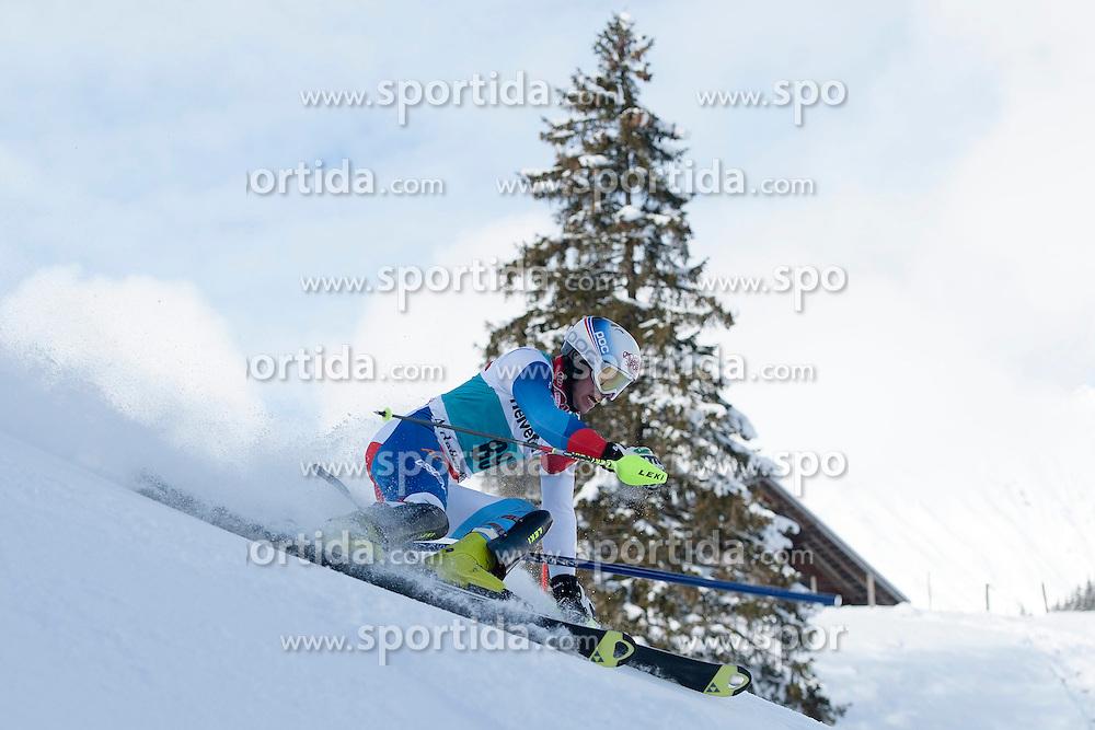 13.01.2013, Adelboden, SUI, FIS Weltcup Ski Alpin, Slalom, Herren, im Bild Bernhard Niederberger (SUI) // during Mens Slalom of FIS Ski Alpine World Cup, Adelboden, Switzerland on 2013/01/13. EXPA Pictures © 2013, PhotoCredit: EXPA/ Freshfocus/ Valeriano Di Domenico..***** ATTENTION - for AUT, SLO, CRO, SRB, BIH only *****