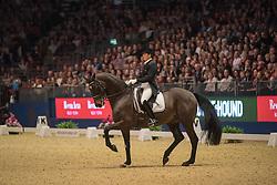 Vilhelmson Silfven Tinne, (SWE), Paridon Magi<br /> Grand Prix Freestyle <br /> Reem Acra FEI World Cup Dressage <br /> London International Horse Show<br /> © Hippo Foto - Jon Stroud