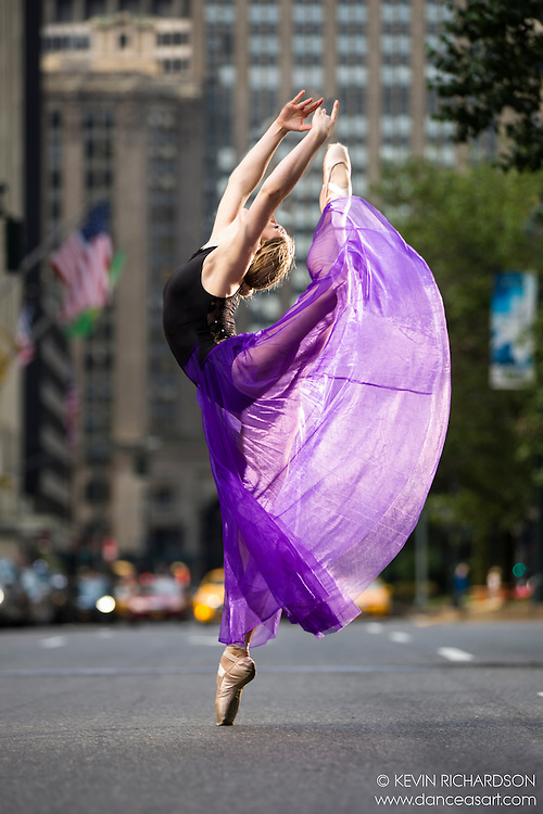 Park Avenue Series: Dance As Art The New York City Photography Project with dancer Mykaila Symes