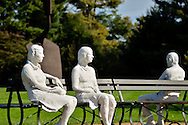 Plaster People at PepsiCo Gardens 2011