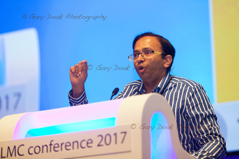 Kiran Mandhyan<br /> BMA LMC's Conference<br /> EICC, Edinburgh<br /> <br /> 18th May 2017<br /> <br /> Picture by Gary Doak