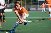 AMSTELVEEN  - Jorrit Croon (Bldaal) , hoofdklasse hockeywedstrijd heren Amsterdam-Bloemendaal (2-2). COPYRIGHT  KOEN SUYK