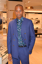ERIC UNDERWOOD at a dinner hosted by Tod's to celebrate the refurbishment of their store 2-5 Old Bond Street, London on 15th September 2016.