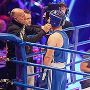 NLD/Amsterdam/20181031 - Boxingstars 2018, 1e aflevering, Taeke Taekema (blauw)