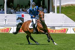 Van Roosbroeck Maurice, BEL, Le Coup C<br />  CSIO Sankt Gallen 2005<br /> © Hippo Foto - Dirk Caremans<br /> 03/06/2005