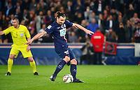But Zlatan IBRAHIMOVIC - 08.04.2015 - Paris Saint Germain / Saint Etienne - 1/2Finale Coupe de France<br /> Photo : WinterPress / Icon Sport