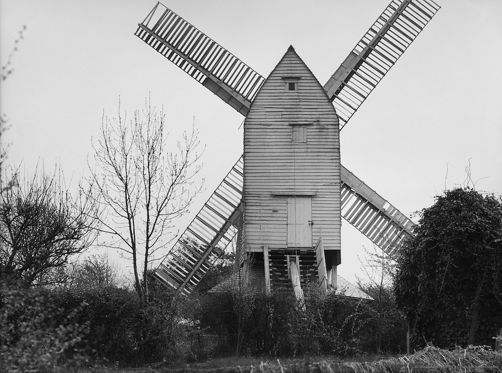 Oldlands Mill at Kymer, Sussex, England, 1932